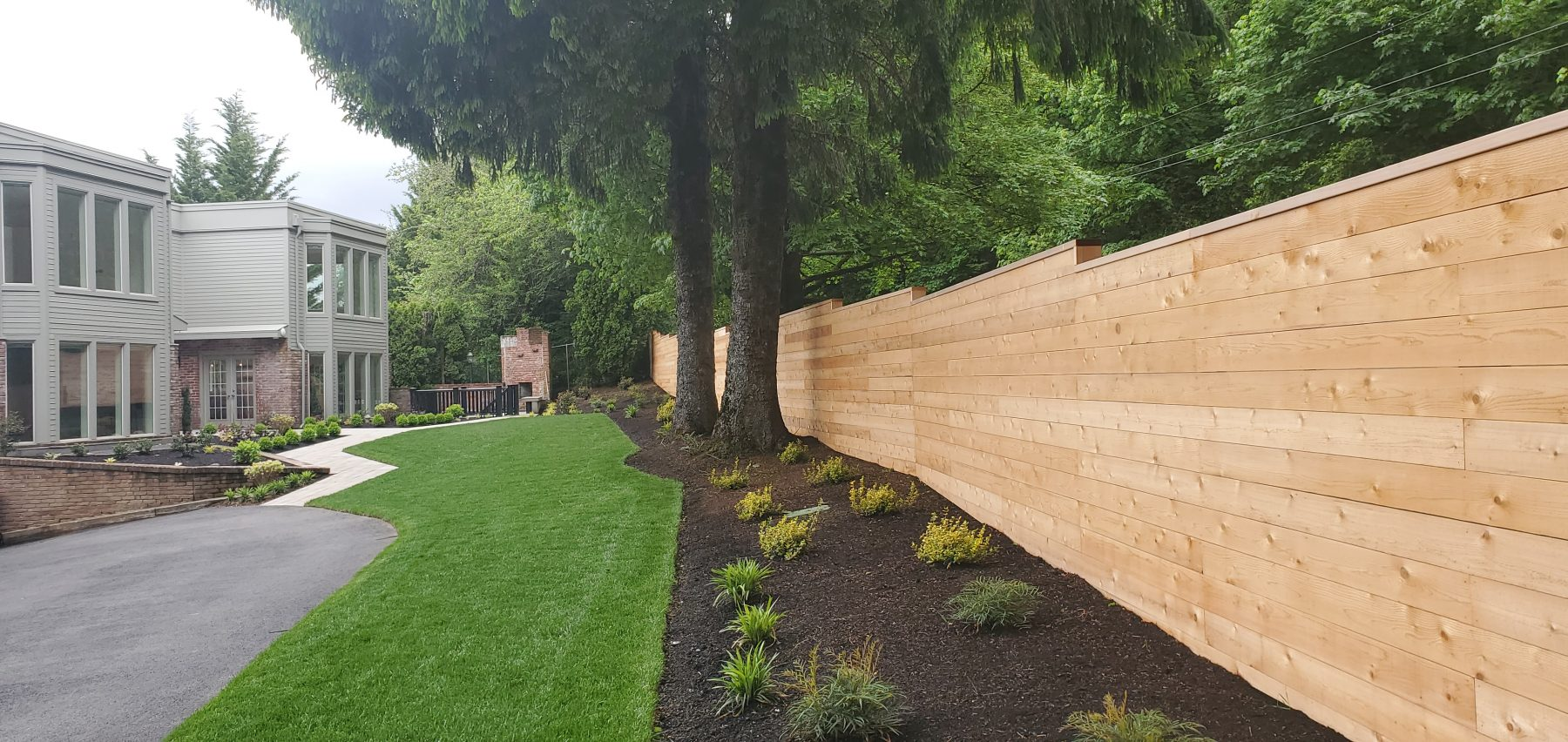 Image of a Ridgefield fence design and installation project by Drake's 7 Dees