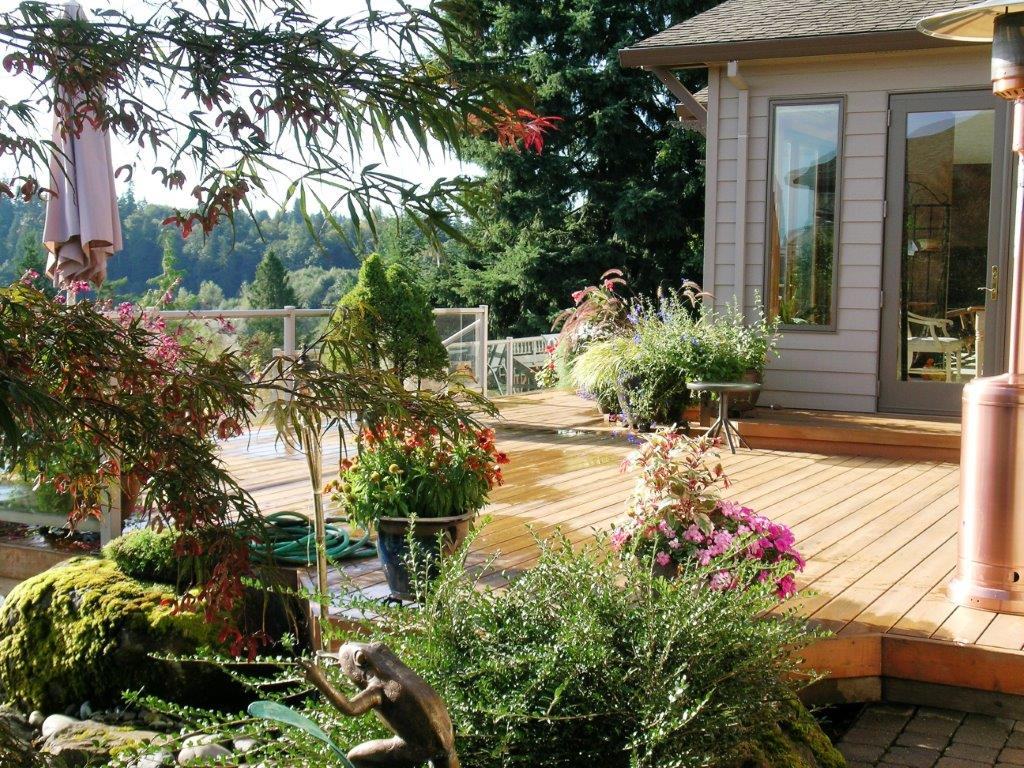 Example of Drake's 7 Dees Lake Oswego landscape design and build work