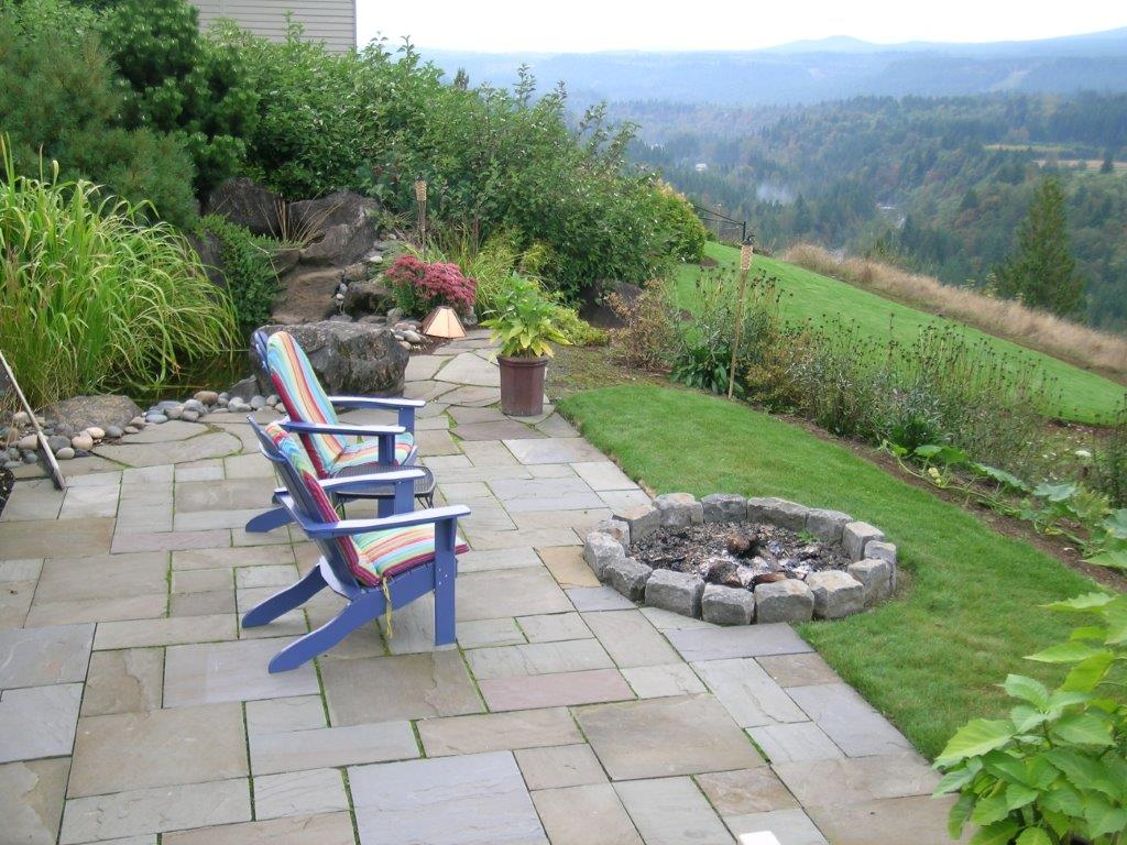 Image of a Hillsboro fire pit design and build project by Drake's 7 Dees