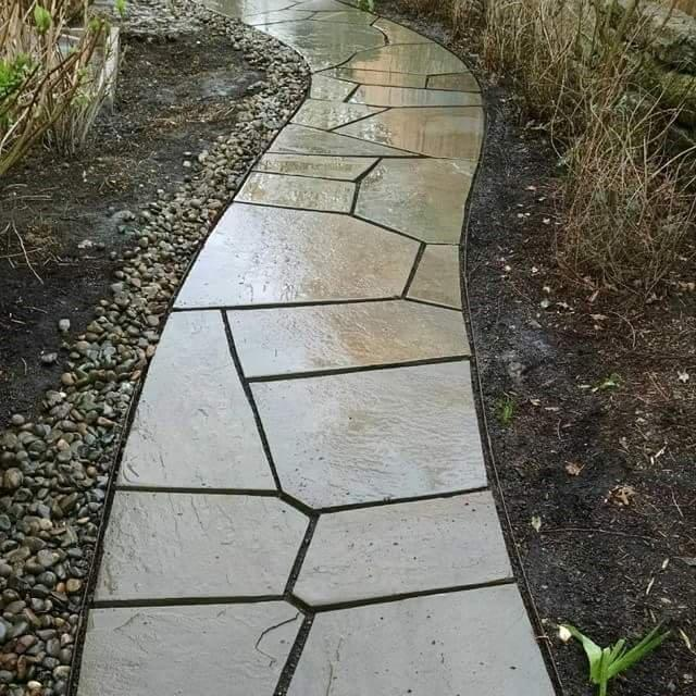 Image of a Wood Village Custom Patio Design and Installation by Drake's 7 Dees